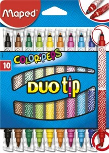 Flamastry dwustronne ColorPeps Duo Tip