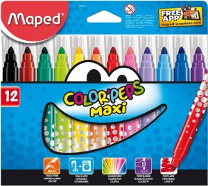 Flamastry ColorPeps Maxi